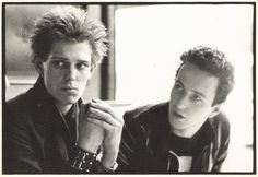 Joe Strummer & Paul Simonon