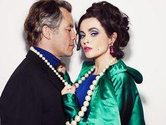 weekend - taylor/burton: Dominic West and Helena Bonham-Carter