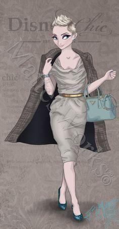 Chic Elsa by MattesWorks on DeviantArt