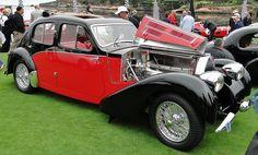 1939 Bugatti Type 57 Galilbier Sports Saloon  #Bugatti #Cars