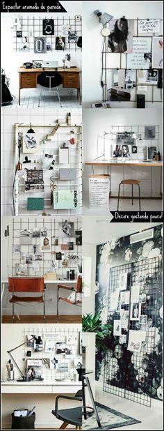 mural-de-inspirações-feito-com-expositor-aramado-wire-grid-wall-8
