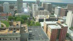 City Hall Observation Deck. Free ride up, why not?