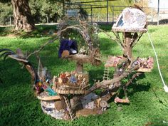 fairy tree house - want this for my back yard.