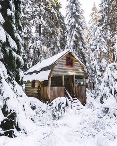 """7,095 Likes, 92 Comments - VancityWild (@vancitywild) on Instagram: """"Nestled in the snowy hills, the perfect cabin in the woods. ⠀⠀⠀⠀⠀⠀⠀⠀⠀⠀⠀⠀ #vancitywild…"""""""