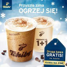 """Nie dajcie się zimie! We wszystkich kawiarniach Tchibo - na hasło """"Kawa na zimę"""" drugą kawę dostaniecie gratis! Repinujcie i cieszcie się kawą :)"""