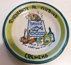 Piatto del buon ricordo  Al Clubino - Pesce di lago in carpiane  - Cremeno