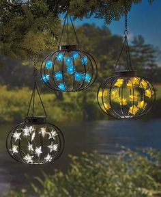 Solar Lighted Lanterns The Lakeside Collection