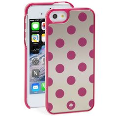 kate spade new york 'le pavillion - mirrored' iPhone 5 & 5s case