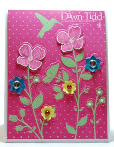Wildflower Meadow by marmie43gs - Cards and Paper Crafts at Splitcoaststampers