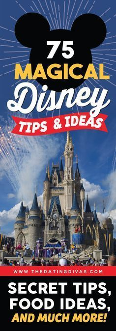 The ULTIMATE Disney vacation guide for families! Tons of secret tips, hacks, and celebration ideas to get you psyched for your upcoming Disney trip! http://www.TheDatingDivas.com