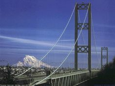 Tacoma, WA : Tacoma Narrows Bridge