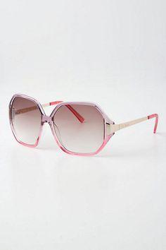Anthropologie Shangri La Sunglasses, Pink Frame #Anthropologie