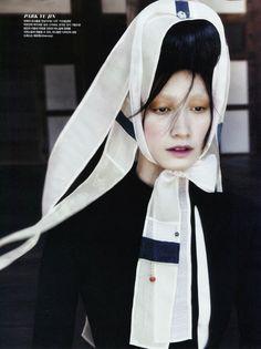 Lee Hye-Jung, Lee Hyun-Yi, Song Kyung-Ah & Park Sera for Vogue Korea August 2013   The Fashionography