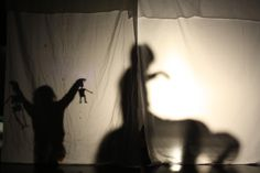 So simple but so effective.  Shadow play at We Are Family 26/04/14