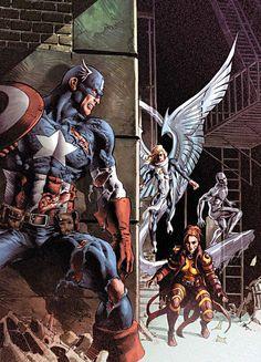 Captain America vs. X-men