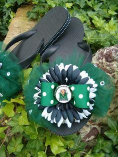 Custom Marshall University flipflops... omg!  $25 from Etsy!!