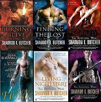 The Sentinel Wars series by Shannon K. Butcher-ebooks