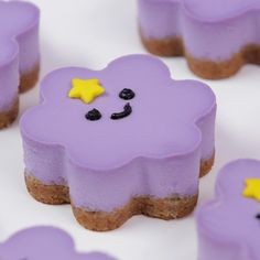 Loved making these Lumpy Space Princess Cheesecakes! They were so good! ⭐️