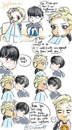 EXO Fan Arts   cristinamlt: Taohun lame comic 2. but its ok...   via Tumblr