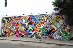 Colorfully Bold Graffiti Art Inspired By the World Around Us by Chicago's Pose and LA's Revok