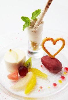ラ・ロシェル山王店のお料理 | レストランウェディングなら 他にはない情報多数掲載 SWEET W TOKYO WEDDING