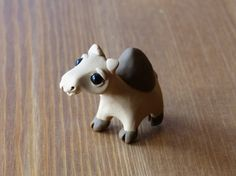 Tiny camel  Handmade miniature polymer clay by AnimalitoClay, $25.00