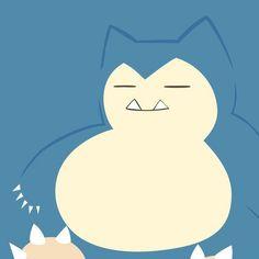 Resultado de imagen para pokemon snorlax kawaii