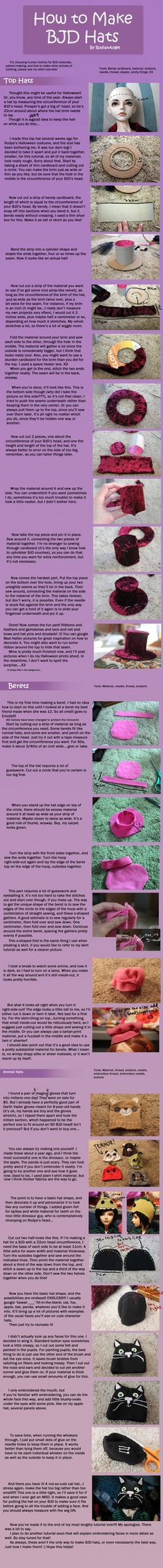 So long...so many pictures... Someone requested a beret tutorial so long ago, and I was a bad, non-productive person and took so long getting it together that I can't remember who they were! If it'...