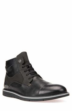 01b07c32c058f Geox Muvet 5 Cap Toe Boot (men) Mens Rain Boots