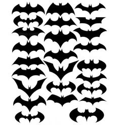 Batman logo silhouettes of all time
