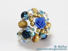 Bee Jang's Beautiful Crystal Beaded Jewelry Tutorials ~ The Beading Gem's Journal