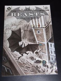 2004 DC Batman The Order Of Beasts Graphic Novel Free Shipping!!