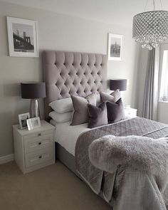 This is a Bedroom Interior Design Ideas. House is a private bedroom and is usually hidden from our guests. However, it is important to her, not only for comfort but also style. Much of our bedroom … Glam Bedroom, Teen Bedroom, Home Decor Bedroom, Bedroom Furniture, Girl Bedrooms, Silver Bedroom, Chic Bedroom Ideas, Adult Bedroom Ideas, Rooms To Go Bedroom