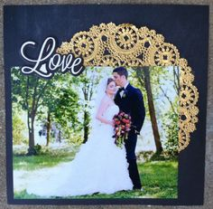 Ideas Wedding Card Design Layout Scrapbook Pages Wedding Album Layout, Wedding Scrapbook Pages, Bridal Shower Scrapbook, Love Scrapbook, Paper Bag Scrapbook, Scrapbook Designs, Scrapbook Page Layouts, Scrapbook Cards, Scrapbooking Ideas