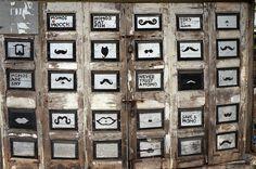 Because all moustaches need some appreciation. #StreetMusings seen at Bandra, Mumbai.  Bit.ly/GarconJabong Bit.ly/GarconAmazon