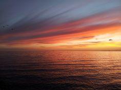 Winter sunset. Port Phillip Bay, Victoria, Australia. Jun 2012. Photo taken using a Samsung Galaxy S2. (c) Lucas Pardo.