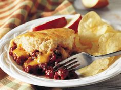 Dinner ready in 45 minutes! Enjoy this easy sloppy joe that's made using Bisquick® mix and beef - a delicious meal.