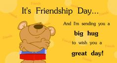 it's friendship day !! tomorrow . #happy_friendship_day 2014 !!