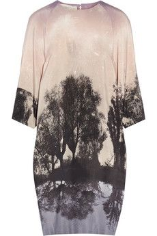 Stella McCartney Printed silk dress | THE OUTNET