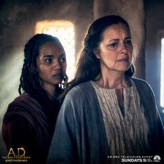 Mother Mary keeps the faith. But will it be enough? Find out tomorrow on a new episode of A.D. The Bible Continues on NBC. | A.D. The Series