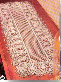 Diy Crafts - crochet doily, center piece ,table runner PATTERN (chart with instructions) Crochet Table Runner Pattern, Crochet Doily Patterns, Crochet Tablecloth, Thread Crochet, Filet Crochet, Crochet Stitches, Scarf Crochet, Crochet Motif, Diy Crafts Crochet