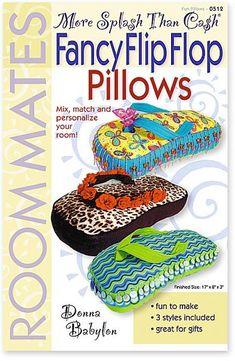 Flip Flop pillow