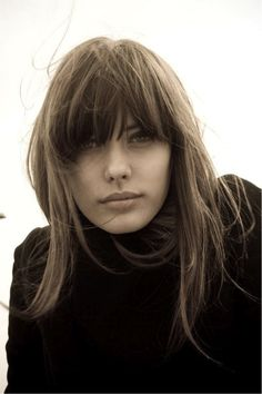 Hairstyle for Fall: Bangs