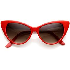 1718f3556c1 Womens Fashion Hot Tip Pointed Vintage Cat Eye Sunglasses 8371 ( 9.99) ❤  liked on