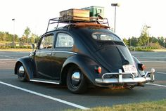 1957 VW Beetle Oval, slammed. I have always LOVED these (One day....)