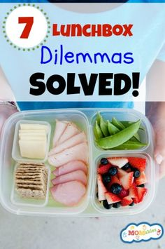 7 Lunchbox Dilemmas Solved with 100 Days of #RealFood and MOMables