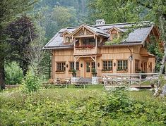 Cabin, Mansions, House Styles, Home Decor, Unique, Places, Decoration Home, Manor Houses, Room Decor