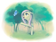 Beautiful Fluttershy by dawkinsia.deviantart.com on @DeviantArt