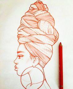 New illustrations, sketches and original art work by Rik Lee — Rik Lee – Art Sketches Girl Drawing Sketches, Portrait Sketches, Cool Art Drawings, Pencil Art Drawings, Illustration Sketches, Tumblr Drawings, Cartoon Illustrations, Woman Illustration, Sketch Art