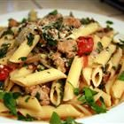 Sausage Pasta make this a lot and we both love it. Its a keeper